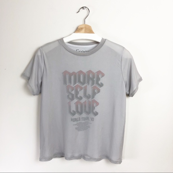 "Freeze Tops - Freeze ""MORE SELF LOVE"" Graphic Tee"